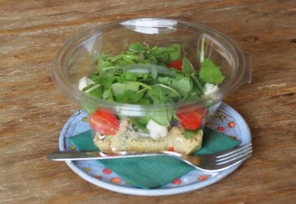 Kus-Kus salát s grilovanou zeleninou